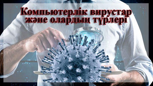 Компьютерлік вирустардың түрлері слайд