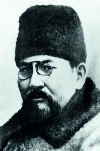 Ахмет Байтұрсынұлы портреті